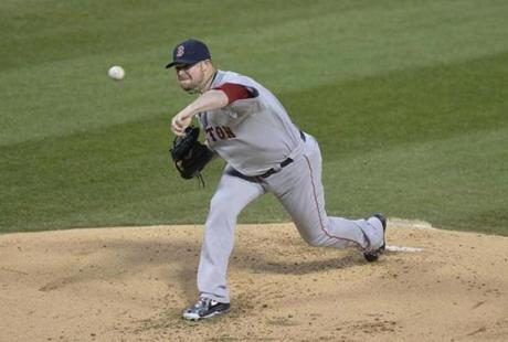 Jon Lester earned the win after pitching eight dominant innings.